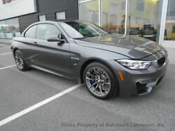 2020 BMW M4 Convertible Convertible 2 dr Manual Gasoline 3.0L STRAIGHT 6 Cyl Mineral Gray Metallic