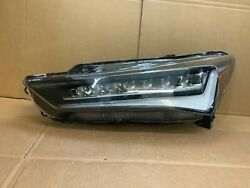 Perfect Complete 19 20 Acura Ilx A-spec Full Led Left Driver Headlight Oem