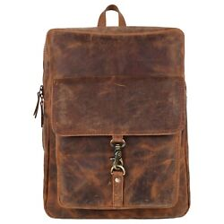 Genuine Buffalo Oil Wax Hunter Leather Backpack Best For Backpack Lovers