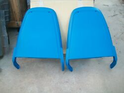 New 1971 71 1972 72 1973 73 1974 74 Plymouth Dodge Seat Back Panels - Blue