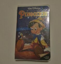 New And Sealed Disney Pinocchio Masterpiece Collection Vhs Vhs 1993