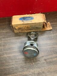 1974-1979 Ford Mustang Ii Bobcat Pinto 2.8 6 Cyl Std. Piston And Rod Nos 320