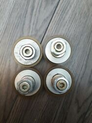 Stanley 312729s Urethane Hanger Wheel Assembly Sold As Set Of 4. Great Shape