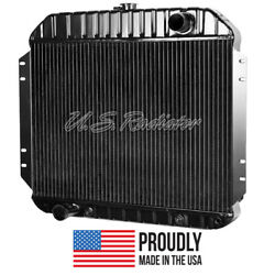 Ford Truck, 1965 V8 Radiator- 4 Row - Made In The Usa