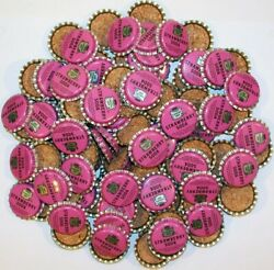 Soda Pop Bottle Caps Lot Of 100 Canada Dry Strawberry 2 Unused New Old Stock