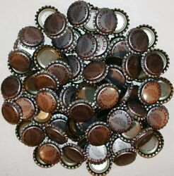 Soda Pop Bottle Caps Lot Of 100 White And Laird Birch Beer Unused New Old Stock