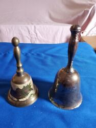 Pre-owned Vintage Series Cast Iron Farm Dinner Bell Antique Style School Church