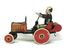 Louis Marx Coo Coo Car Wind-up Vintage 1920s Tin Litho