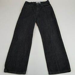 Canon River Blues Black Light Wash Jeans 16 Regular Relax Fit  $14.99