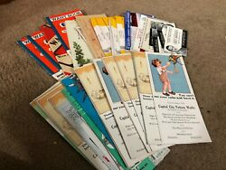 Large Lot Vintage/antique Advertising Blotters - Pamplets - Booklets 60+ Items