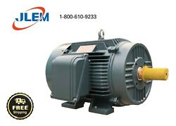 75 Hp 1800 Rpm 3 Phase Electric Motor 365t Free Shipping