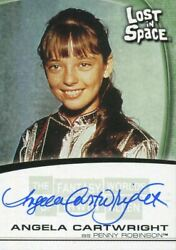 The Fantasy Worlds Of Irwin Allen Autograph Card A10 Angela Cartwright
