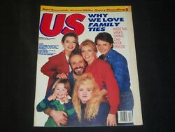 1987 March 23 Us Weekly Magazine - Michael J. Fox Cover - Family Ties - L 1414