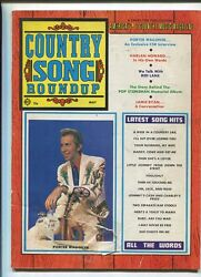 Country Song Roundup May 1970 Porter Wagner Harlan Howard Mbx86