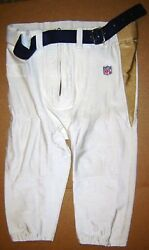 St. Louis Rams Orlando Pace Size 38 Nfl Football 2000 White Game Pants