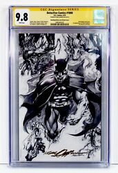 Detective Comics 1000 Cgc 9.8 Ss Nm/mt Neal Adams Signed Sketch Cover Variant