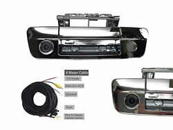 For Chrome Tailgate Handle 09-12 Ram 1500 2500 3500 W/ Back-up Cam And 8m Cable