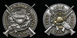 Mos 1803 1833 2141 2142 Yat Yas Coin Us Marines Grunt Infantry Pin Up Wow
