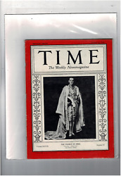 Oct 12 1936 Time Magazine The Viceroy Of India Victor Alexander John Hope T1558