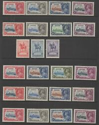 British Commonwealth 1935-1953 Complete Omnibus Issues Mlh Mint Stamps Superb