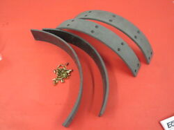 New 1935-38 Ford Molded Brake Shoe Lining Set Does Two Wheels 78-2007-m