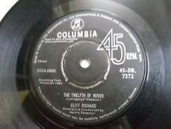 Cliff Richard Norrie Paramor Afraid To Go Home/the Twelfth Single India Vg+
