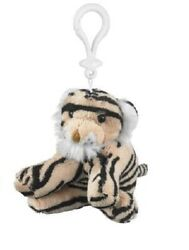Wildlife Artists Plush Tiger Stuffed Animal Backpack Clip Toy Keychain 4