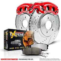Power Stop Kc1781-36 Z36 Truck/tow Brake Kit For Front F-250 Super Duty