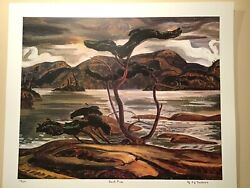 A. Y. Jackson Bent Pine Limited Edition Art Print Group Of Seven Georgian Bay