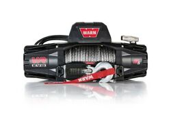 Warn 103251 Vr Evo 12 Volt Dc Powered 8,000lb Winch With 90ft Synthetic Rope