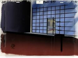 Batman The Animated Series Animation Production Background And Layout Drawing 91