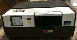 Automatic Radio 8-track Player Recorder Hrp-1356 W/box Mic Cables And Manual