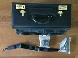 Heritage Leather Wheeled Briefcase