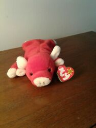 Ty Beanie Baby Snort The Bull Duecshland Tag Mint Condition