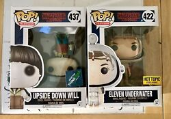 Funko Pop Stranger Things Eleven Underwater Hot Topic Exclusive Upside Down Will