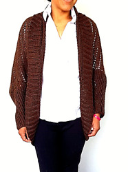 Sweaters For Women, Manually Knitted With Crochet, With Alpaca Wool. Bolivia