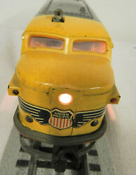 1950 Lionel Union Pacific 'gray' 2023 Alco And Dummy Unit O Gauge Scale Post War