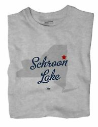Schroon Lake New York Ny T-shirt Map