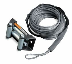 Warn 77835 Synthetic Rope Conversion For Rt40 7/32 X 50' With Roller Fairlead