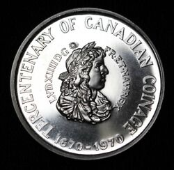 1670-1970 Tercentenary Of Canadian Coinage - New France - Copper-nickel -canada
