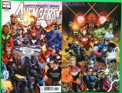 Avengers 1 Ed Mcguinness 1100 Virgin Variant Cover And Wanted Comix Homage 181 1
