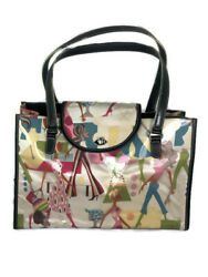 Maxx New York Cool Girls Multicolor PVC Double Handle Tote Bag $29.99