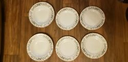 Farberware 486 Fine China Wellesley Floral 2 Large Bowls And 4 Salad Plates