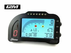 Data Logger Gps Laptimer Display I2m Chrome Lite Universal