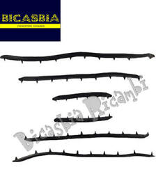 3381 - Series Kit Strips Foot Board In Only Rubber Vespa 50 R L N Bicasbia