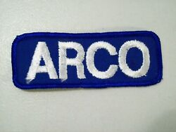 Vintage Arco Gasoline Gas Station Embroidered Patch Unused
