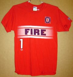 Chicago Fire Jorge Campos 1 Red Practice Shirt