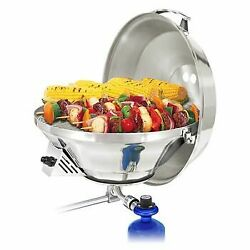 Marine Kettle 3 Combination Stove And Gas Grill Metal Portable Small Propane