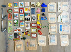Lot Of Vintage Cracker Jack Premium Prize Toys And Activities