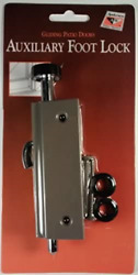 Andersen Auxiliary Security Lock, Foot Latch - Stone - 1997220